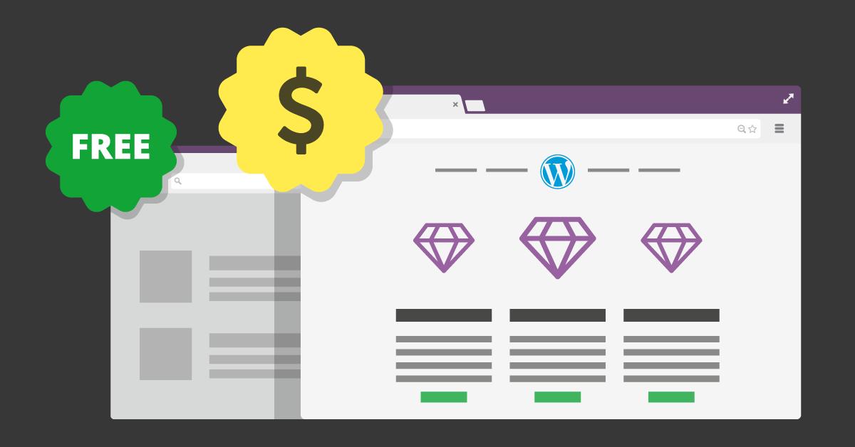 WordPress tema - Gratis eller Premium?