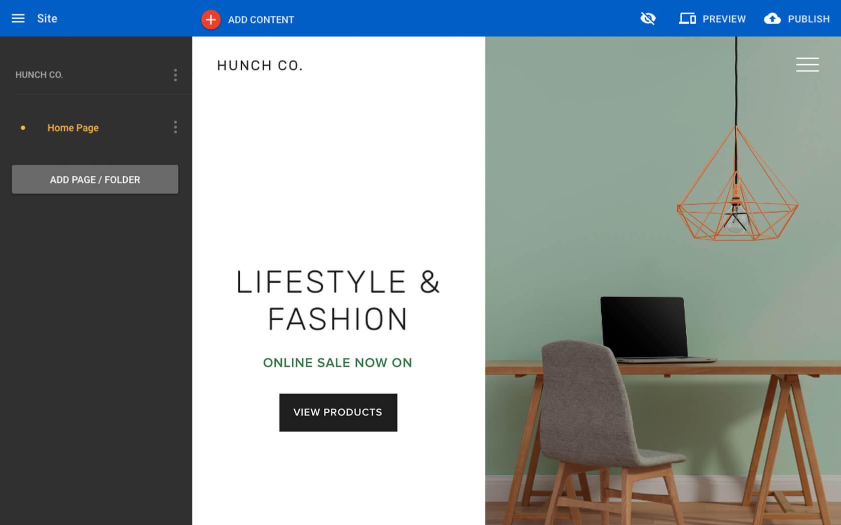 Surftown Sitebuilder Shop - Bygg en webbplats och din webbshop.